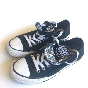 Converse All Star black sneakers size 7